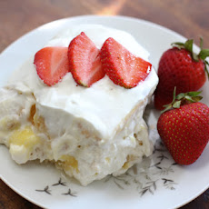 Lemon Ginger Ice Box Cake