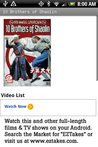 10 Brothers of Shaolin Movie
