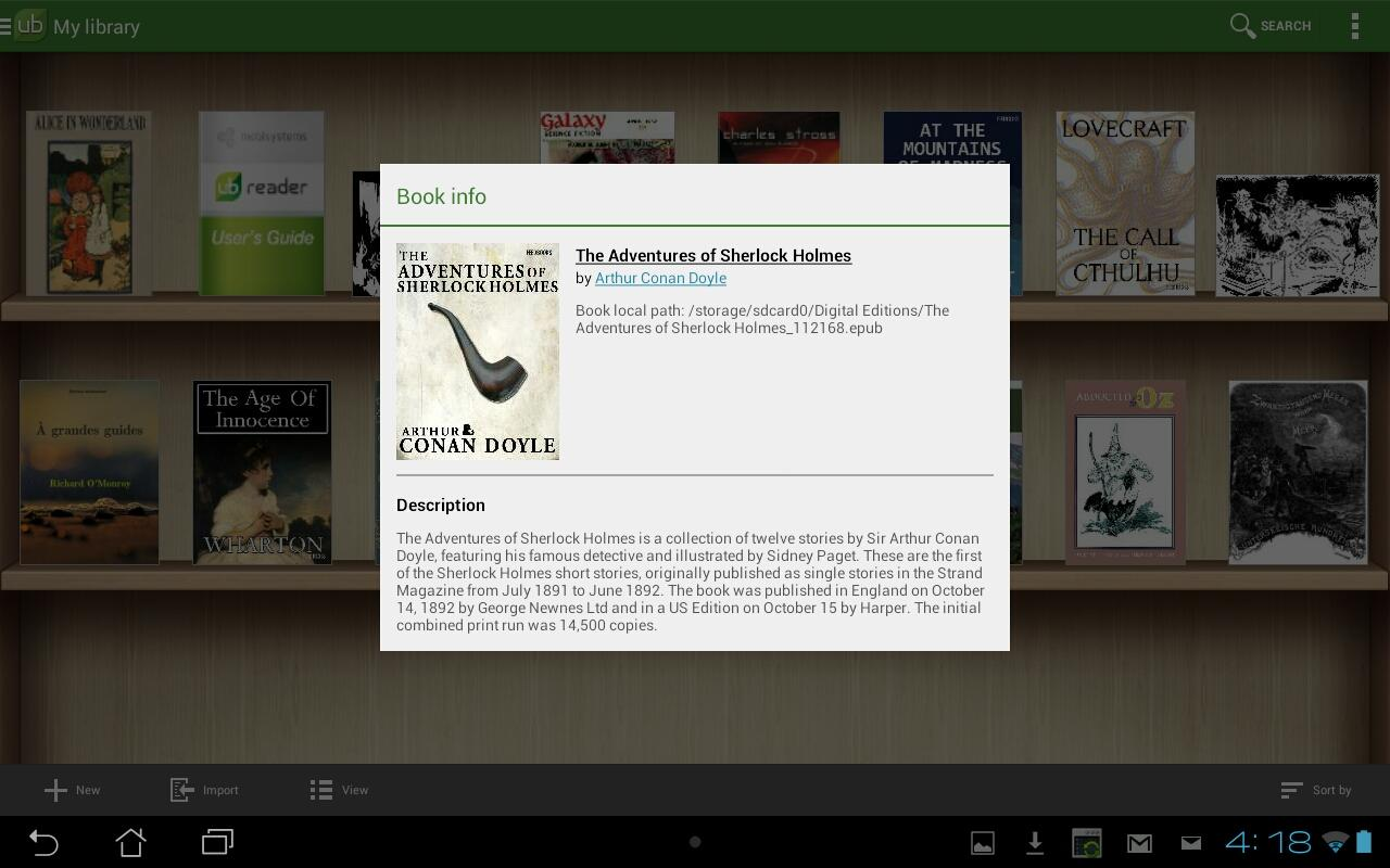 Universal Book Reader Screenshot 10