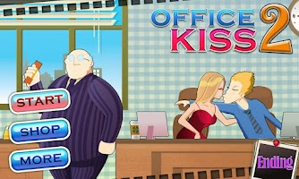 Screenshot of Office Kiss2-Fun game