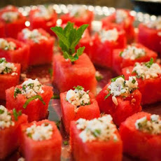 Fresh Watermelon & Mint Salad With Feta
