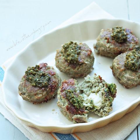 Gluten-Free Italian Meatball Recipe With Basil Pesto Pasta Recipes ...