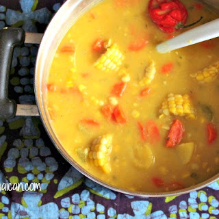 Jamaican Corn Soup