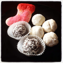 Russian Tea Cakes, coconut Truffle & Sugar Cookie