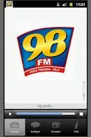 Screenshot of 98 FM João Pessoa