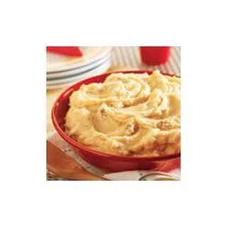 Creamy Golden Mushroom Mashed Potatoes