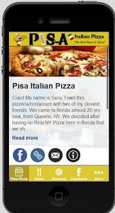 Pisa Italian Pizza - screenshot