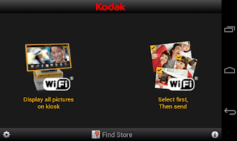 Screenshot of KODAK Kiosk Connect