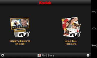 Screenshot of KODAK Kiosk Connect