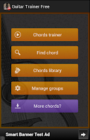 Screenshot of Guitar Chords Trainer Free