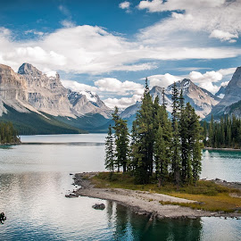 Glacial Lake by Sheldon Anderson - Landscapes Mountains & Hills ( canada,  )