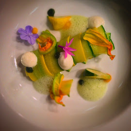 Chino Farms summer squash by Chris Cantwell - Food & Drink Plated Food