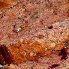 Whole Wheat Cherry Nut Bread