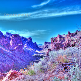 Succor Creek Canyon  by Vern Tunnell - Digital Art Places (  )