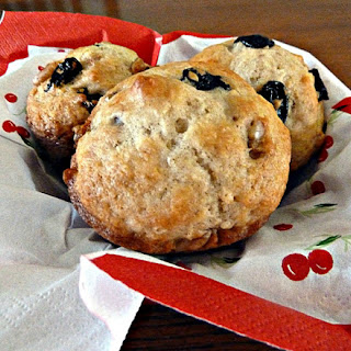 Dried Cherry Nut Muffins Recipes