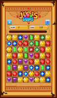 Screenshot of Jewels Hunt Match 3- kids game