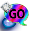 GO SMS THEME/DiamondRainbow1 icon