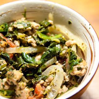 Ground Pork And Spinach Recipes