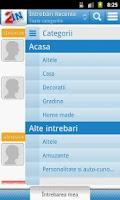Screenshot of Intrebari Interesante