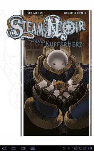 【免費漫畫App】Steam Noir 1: Das Kupferherz 1-APP點子