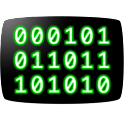 CRT Binary Clock Widget icon