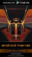 Screenshot of Laser Clock ANDROID MARVEL