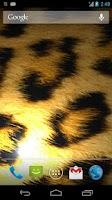 Screenshot of Leopard Print Live Wallpaper