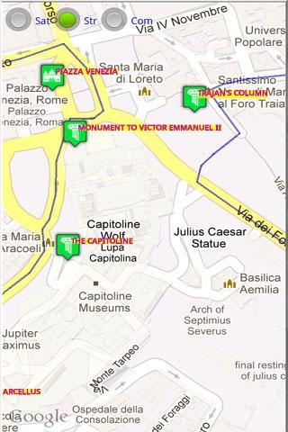 Rome Tourist Tablet
