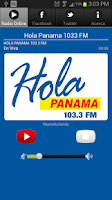 Screenshot of HOLA PANAMA 1033 FM