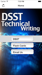 DSST Technical Writing Buddy - screenshot