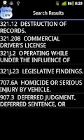 Screenshot of Iowa Police Field Reference