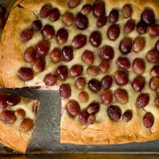 Grape and Grappa Focaccia (Schiacciata con l'uva) Recipe
