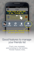 Screenshot of Korea random chat messenger