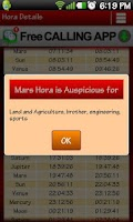 Screenshot of Hora Muhurat - Astrology