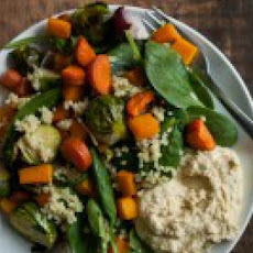 Roasted Winter Vegetable and Millet Salad