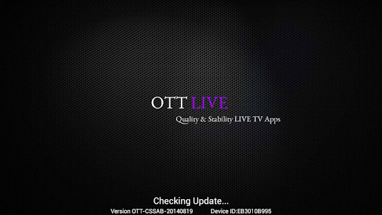 OTT LIVE TV - screenshot