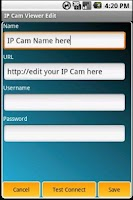 Screenshot of IP Cam Viewer