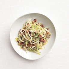 Fettuccine With Sausage and Cabbage