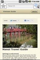 Screenshot of Hanoi Travel Guide