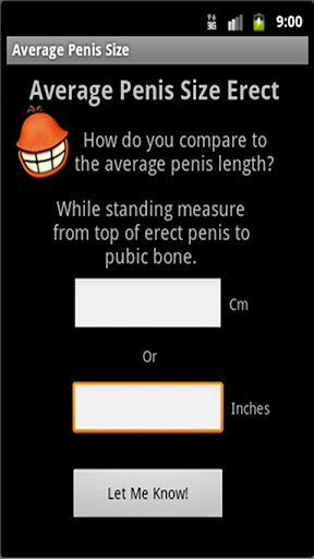 Average Penis Size Calculator