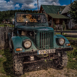 The old car by Alex Antonita - Transportation Automobiles ( canon, car, old, vintage )