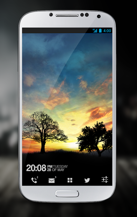 Sunset Hill Pro Live Wallpaper Screenshot 4
