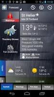 Screenshot of UK Weather Forecast