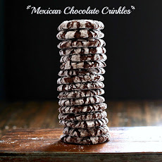 Mexican Chocolate Crinkles