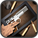 Virtual Gun App Mobile Weapon icon