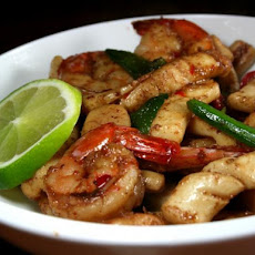 Chilli, Salt and Pepper Seafood