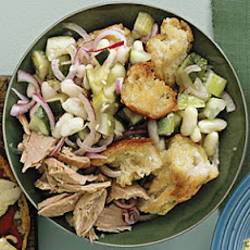 White Bean and Tuna Panzanella