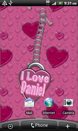 I Love Daniel