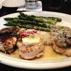 The trio with asparagus! Yum!