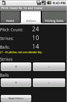 Screenshot of My Baseball Stats Calculator